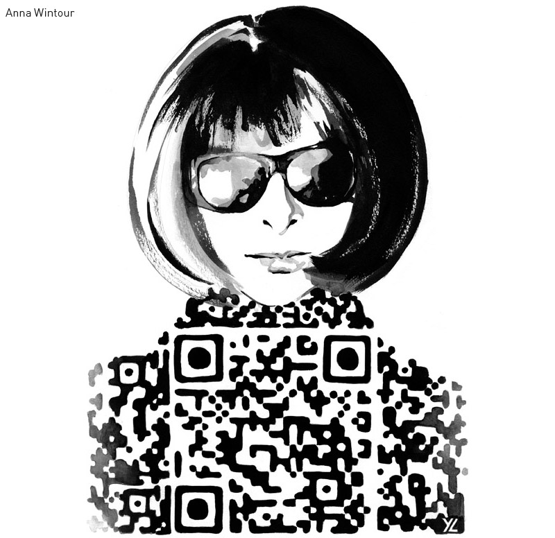 Anna Wintour by Yiying Lu